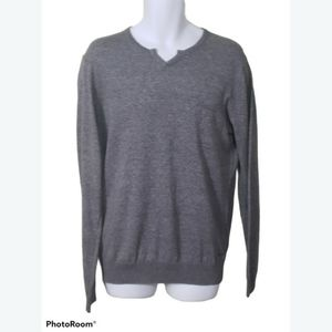 Hugo Boss Slim Fit Cotton Knit Sweater- Men's